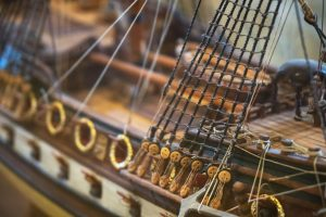 Wooden Ship Models and Accessories